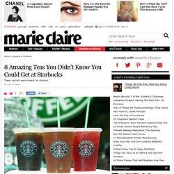 Starbucks Secret Menu - Best Starbucks Teas