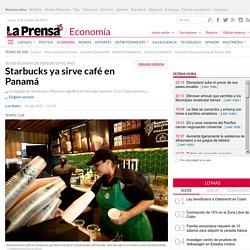 Starbucks ya sirve café en Panamá