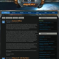 Starcraft 2 Armory - Latest News