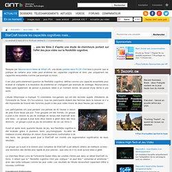 StarCraft booste les capacités cognitives mais...