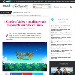 «Stardew Valley» est désormais disponible sur Mac et Linux