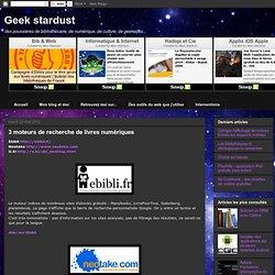 3 moteurs de recherche de livres numériques