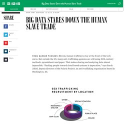 Big Data Stares Down the Human Slave Trade