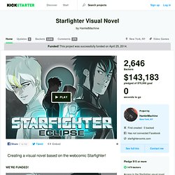 Starfighter Visual Novel by HamletMachine