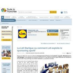 La Lidl Starligue ou comment Lidl exploite le sponsoring sportif