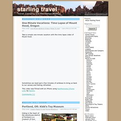 Starling Travel » Oregon
