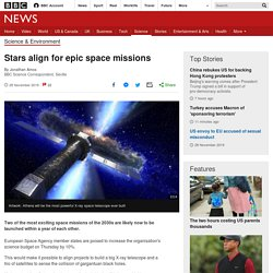 Stars align for epic space missions