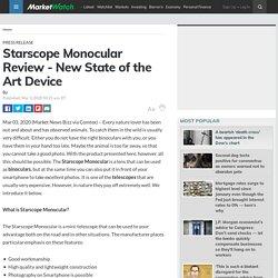 Starscope Monocular Review