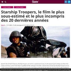 Starship Troopers, le film le plus sous-estimé et le plus incompris des 20 dernières années