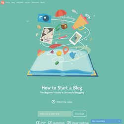 How to Start a Blog - The Free Guide (+ PDF & Audiobook)