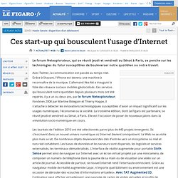 Web : Ces start-up qui bousculent l'usage d'Internet