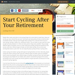 Start Cycling After Your Retirement
