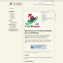 start [La Fab'Brique - Documentation]