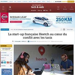 La start-up française Heetch au cœur du conflit avec les taxis