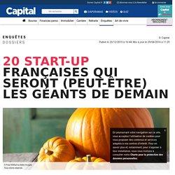 20 start-up françaises qui seront (peut-être) les géants de demain