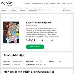 HELP Start Grundpaket - Nypon Förlag