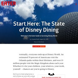 Start Here: The State of Disney Dining