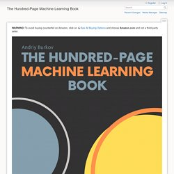 The Hundred-Page Machine Learning Book [The Hundred-Page Machine Learning Book]
