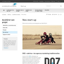 Start'inPost : nos start-up - Start-up