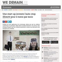 Une start-up invente l'auto-stop illimité pour 2 euros par mois