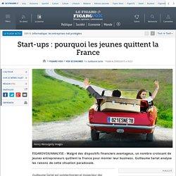 Start-ups : pourquoi les jeunes quittent la France