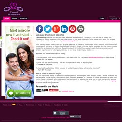 casual hook up site Keyword