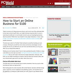 How to Start an Online Business for $100