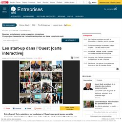 Les start-up dans l'Ouest [carte interactive]