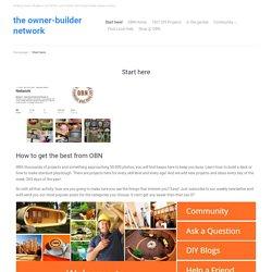 Start here – The Owner-Builder Network