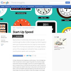 Start-Up Speed