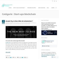 Start-ups blockchain – Blockchain France