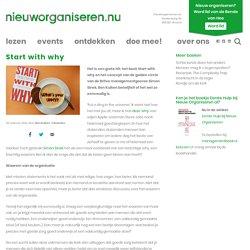 Start with whynieuworganiseren.nu