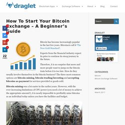 How to Start Your Bitcoin Exchange – Draglet Gmbh
