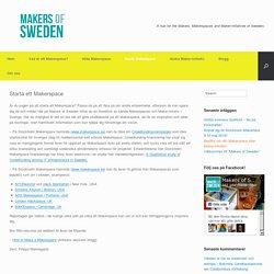 Starta ett Makerspace