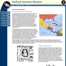 StarTeach Astronomy Education
