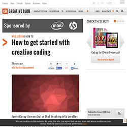 How to get started with creative coding