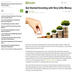 Get Started Investing with Very Little Money