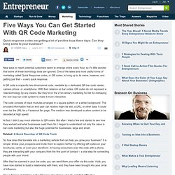 Five Ways You Can Get Started With QR Code Marketing