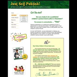 Get Started on Self Publishing Your Own Children's Book