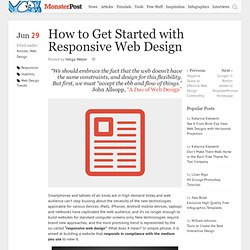 How to Get Started with Responsive Web Design