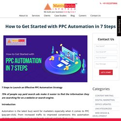 How to Get Started with PPC Automation in 7 Steps