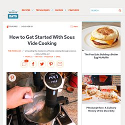 How to Get Started With Sous Vide Cooking