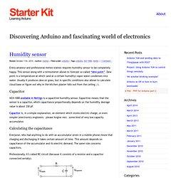 Starter Kit » Blog Archive Humidity sensor » Starter Kit
