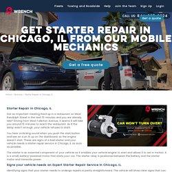 Starter Repair Chicago IL