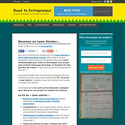 Devenez un lean starterRoad To Entrepreneur