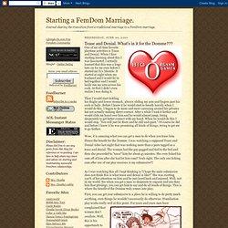 Starting A Femdom Marriage 32