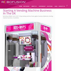 Vending Machine Business Start Up In UK