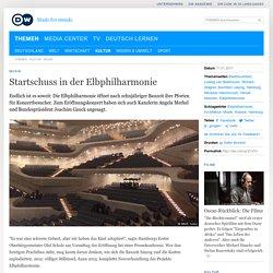 Startschuss in der Elbphilharmonie