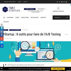 #startup : 8 outils pour faire de l'A/B Testing
