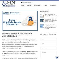 Startup Benefits for Women Entrepreneurs